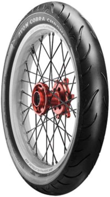 Avon Cobra Chrome AV91 Max 89% Now free shipping OFF Front Motorcycle 80B-17 130 Bl 65H Tire
