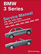BMW 3 Series Service Manual 1984-1990 by Bentley Publishers (2010) Hardcover