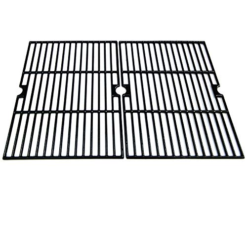 Direct Store Parts DC111 Polished Porcelain Coated Cast Iron Cooking Grid Replacement for Brinkmann, Aussie, Members Mark, Nexgrill, Better Homes&Gardens, Grill Chef, Grill King, Mission Gas Grill