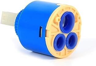 35/40mm keramische kraanpatroon (2 pakken) - vervanging voor enkele handgreep kraan, ventiel reparatie 40mm