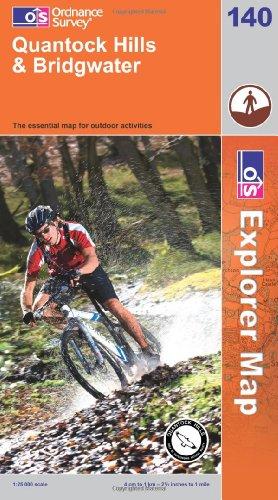 OS Explorer map 140 : Quantock Hills & Bridgwater