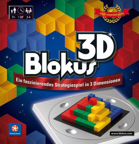 Mattel Winning Moves 10180 - Blokus 3D