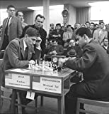 Perfect Posters and Pics Bobby Fischer Mikhail Tal in