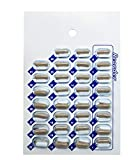 100 Pack Monthly or Weekly Cold Seal Medication Blister Pack System Cards - One Piece Unit Dose Book Fold, Easy No Extra Equipment Needed, Just Fill and Seal, (31 Day Monthly - 100 Pack)