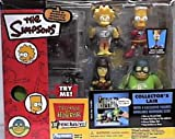 The Simpsons World of Springfield Interactive Enviroment Treehouse of Horror Collector's Lair with Exclusive Bart, Comic Book Guy, Lisa, Lucy Lawless Figures