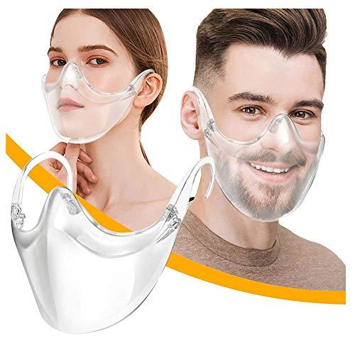 2020 New Radical Alternative Transparent Shield | Safety Shields | Protective Face Cover | Visera Transparentes Reutilizables Lavables Antivaho | Clear_ Shield para Boca y Nariz
