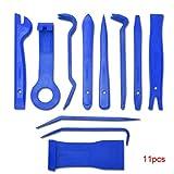Topker Clip 11pcs de radio auto del coche panel de la puerta interior panel de herramientas del salpicadero herramienta de eliminación de primer set Herramienta Reparación de bricolaje