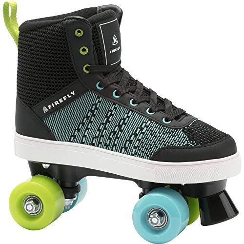 Firefly Unisex-Kinder Rsk 510 Skateboardschuhe, Schwarz (Black/Blue/Green LIM 900), 35 EU
