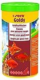 sera 00870 goldy 1000ml il mangime in scaglie per pesci rossi più piccoli e altri pesci d...