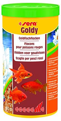 Sera Goldy, el alimento Principal para Peces pequeños a Base de Copos cuidadosamente Fabricados (también para cría de Especies exigentes) y Otros Peces de Agua fría exigentes 🔥