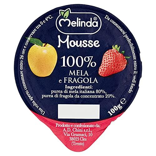 Melinda Mousse di Mele e Fragole - Confezione da 18