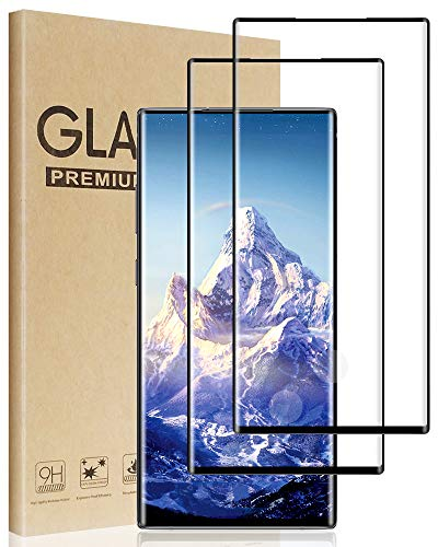 Orangutan fist Compatible with Samsung Galaxy Note 10 Plus Screen Protector,Tempered Glass Film for Samsung Galaxy Note 10 Plus, 2-Pack Clear