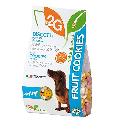 2 G PET FOOD galletas para perros de fruta – 350 g