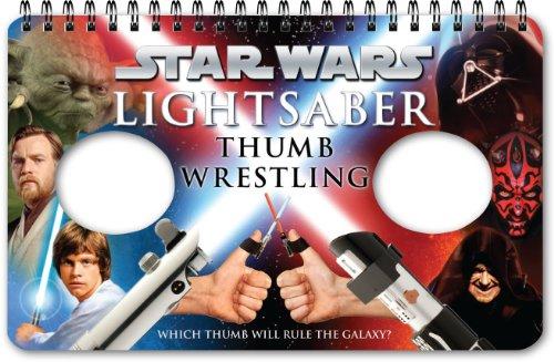 Star Wars Lightsaber Thumb Wrestling: (Lightsaber Book Games for Kids, Star Wars Game Book)