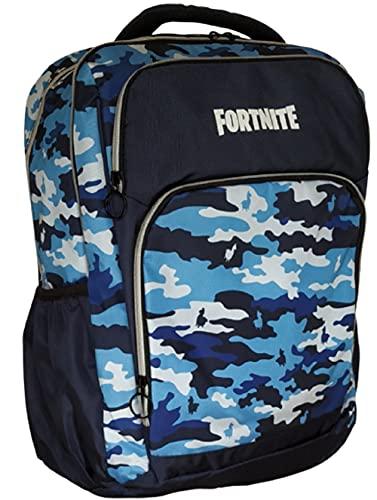 Panini Mochila organizada Camo Fortnite Azul Camouflage 64996