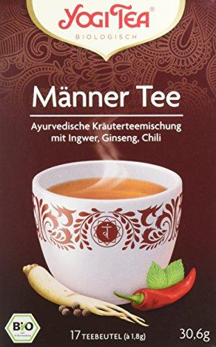 Yogi Tea Männer Tee Bio, 3er Pack (3 x 30.6 g)