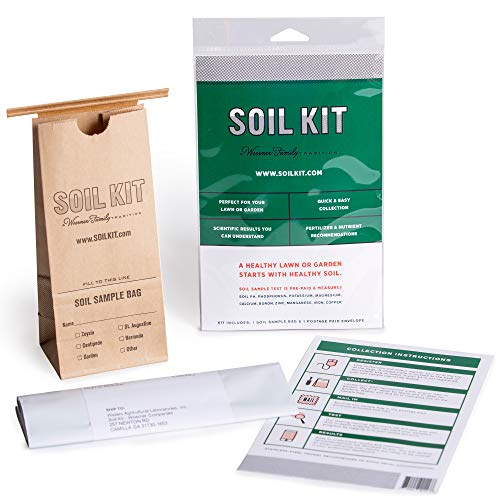Great Features Of Soil Kit Soil Test Kit -Discover Your Lawn and Garden Fertility with PH Meter, Nut...