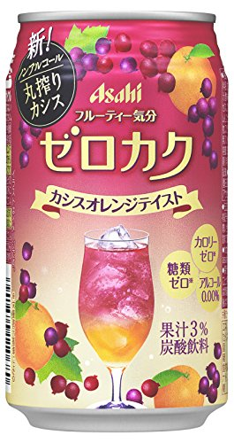 アサヒ ゼロカク カシスオレンジテイスト 缶 350ml