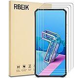 [3 Pack] RBEIK for Asus Zenfone 7 Pro ZS671KS Screen Protector, HD Anti-Fingerprints Scratch Resistance Bubble Free 9H Hardness Tempered Glass for Asus Zenfone 7 ZS670KS/Pro ZS671KS