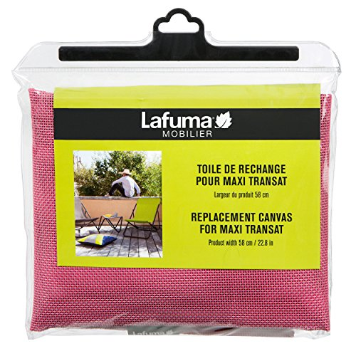 Lafuma Ersatz-Batyline-Bezug für Liegestuhl Maxi-Transat, Pink, LFM2655-8555