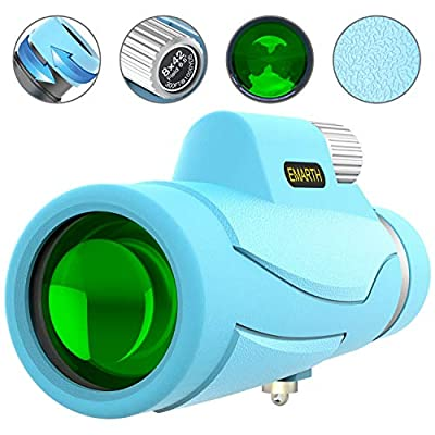 Monocualrs Telescope High Power for Adult Kids- 8x42 Compact monocular with BAK4 Prism FMC for Bird Watching Concerts Hunting Hiking & Perfect Gifts for Men Adults Kids