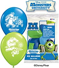 PartyMate Balloons Latex Balloons 041901 Monsters University (6 Pk), 12