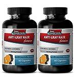 Folic Acid Capsules - Anti Gray Hair - Gray Hair Away (2...