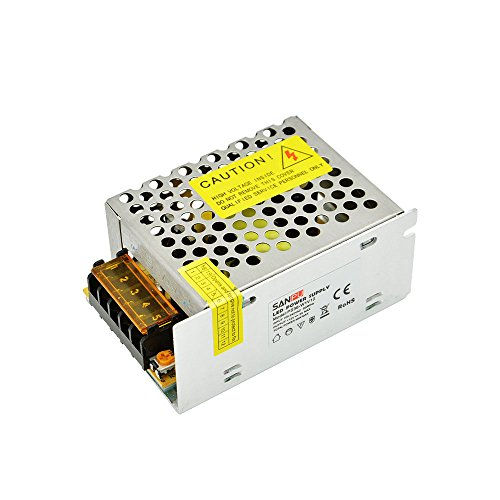 Price comparison product image INFINIC 12V DC 36W Switching Power Supply 3A Constant Voltage AC / DC 12 Volt Transformer Driver 28W 12VDC Indoor for LEDs (SANPU PS36-W1V12)