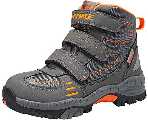 Botas de Senderismo Zapatos de Algodón Botas para la Nieve Botas de Invierno para Unisex Niños