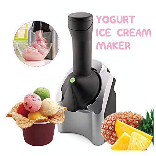 QWEAS Automatische Eismaschine, Obst Softeis-Maschine Einfach One Push Betrieb, für Heim DIY Küche Home Use
