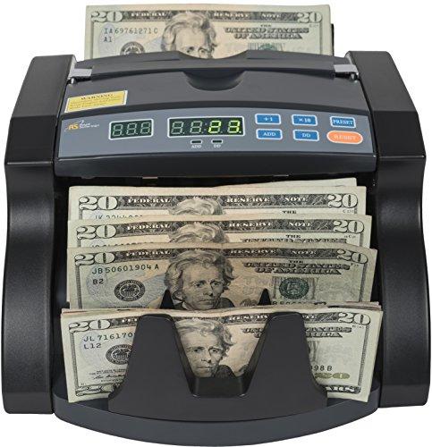 Royal Sovereign High Speed Bill Counter With Rear Dollar Bill...