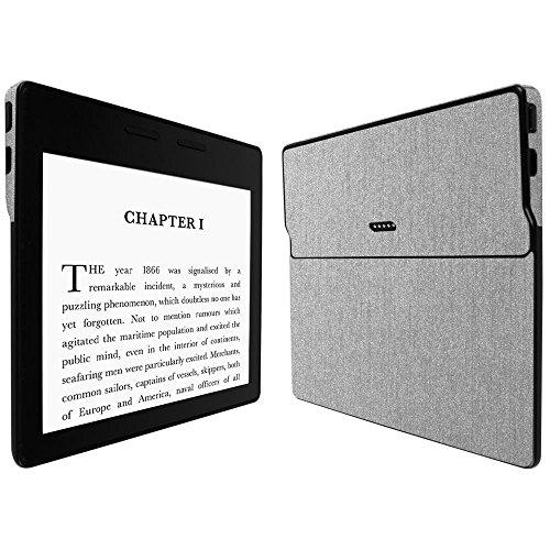 Skinomi Brushed Aluminum Full Body Skin Compatible with Amazon Kindle Oasis...