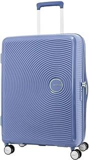American Tourister Curio Hardside Spinner Suitcase, 69 Centimeter, Denim Blue