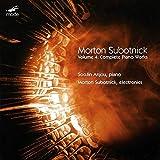 Morton Subotnick : L'oeuvre pour piano, vol. 4. Anjou, Subotnick.
