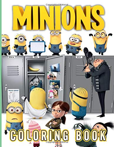 Minion Coloring Book: Unofficial Minion Coloring Books For Adults, Perfect Gift Birthday Or Holidays