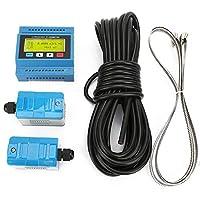 デジタル超音波流量計、プロフェッショナルTUF-2000M超音波流量/熱モジュール流量計流量計DN15-DN100mm