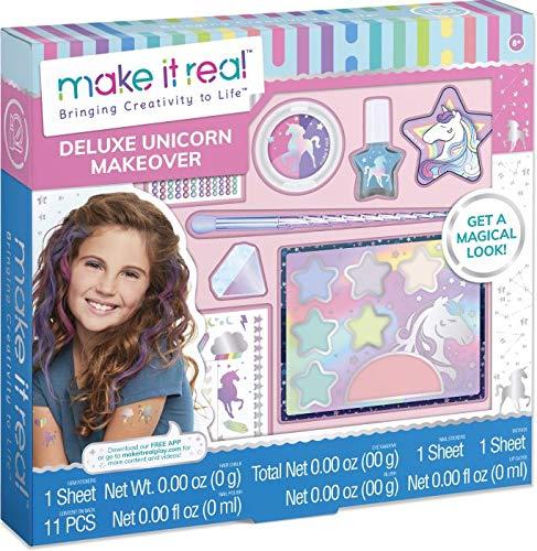 Make It Real 2902461 Einhorn Beautyset für Mädchen, Make-up für Kinder, Schminkset, Kosmetik-Kit