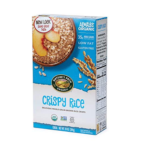 Nature's Path Crispy Rice Cereal, Healthy, Organic, Gluten-Free, 10 Ounce Box (Pack of 6)