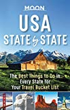 Moon USA State by State: The Best Things to Do in Every State for Your Travel Bucket List (Travel Guide)