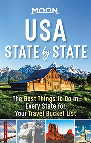 Compare Textbook Prices for Moon USA State by State: The Best Things to Do in Every State for Your Travel Bucket List Travel Guide 1 Edition ISBN 9781640495975 by Moon Travel Guides