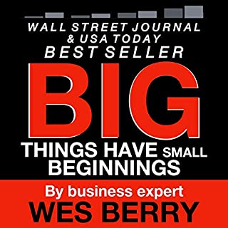 Big Things Have Small Beginnings audiobook cover art