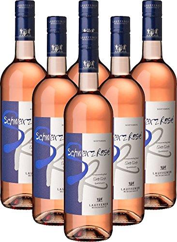 Lauffener Weingärtner Schwarz|Rosé Schwarzriesling Rosé QbA lieblich (6x0,75l)