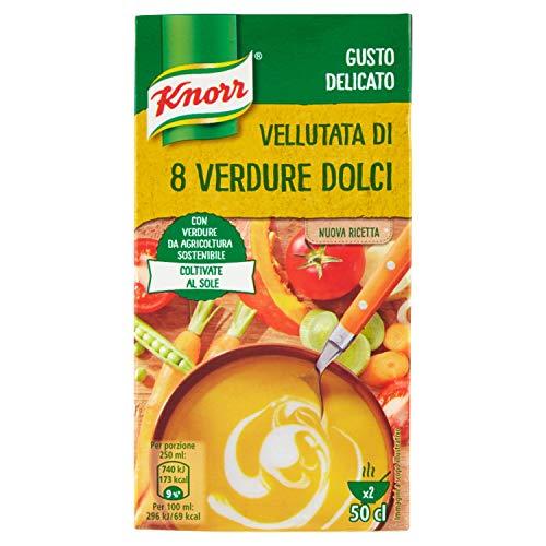 Knorr Vellutata di 8 Verdure Dolci, 500ml