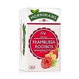 Hornimans - Bolsitas De T Frambuesa Rooibos 20 x 1,5 g - [pack de 4]