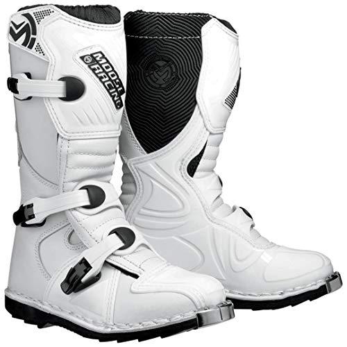 Moose Racing M 1.2 Teen Stiefel 12 Weiß