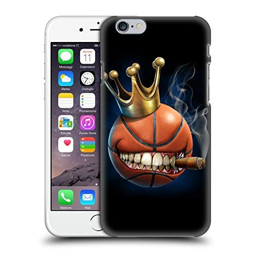 Head Case Designs Ufficiale Tom Wood Il Re del Basket Mostri Cover Dura per Parte Posteriore Compatibile con Apple iPhone 6 / iPhone 6s