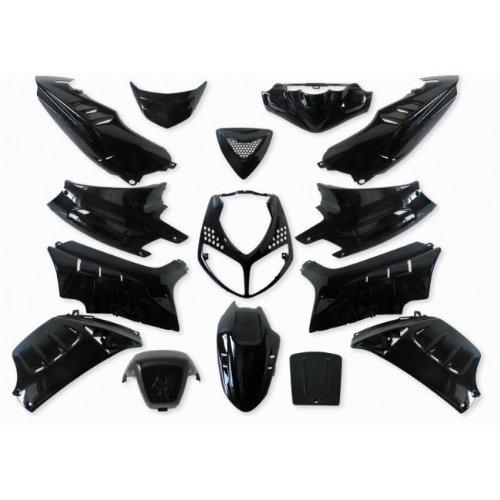 Verkleidung 15 Teilig StylePro für Peugeot Speedfight 2 schwarz metallic