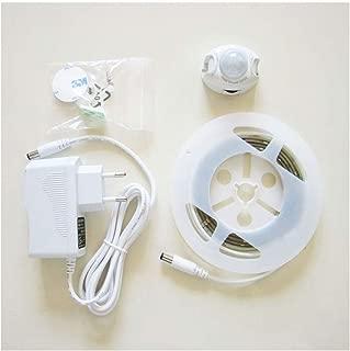 インテリジェント光制御センサ光、赤外光体ベルトワードローブキャビネット光ストリップ(暖かい光)のLEDベッド底光 (Size : Single bed style 1.2m)