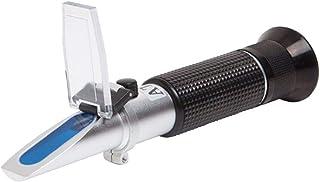 Morza Hand Honig Refraktometer Tester 58-90% Brix 38-43 Baume 10-33% Wasser ATC Temperaturkompensation für Imker