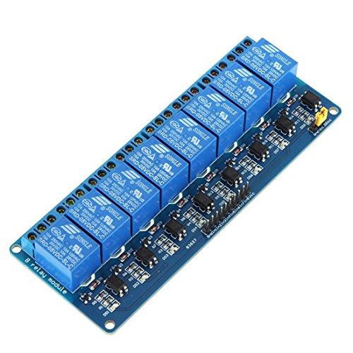 Placa modulo rele - SODIALR 5V 8 Canales Placa modulo